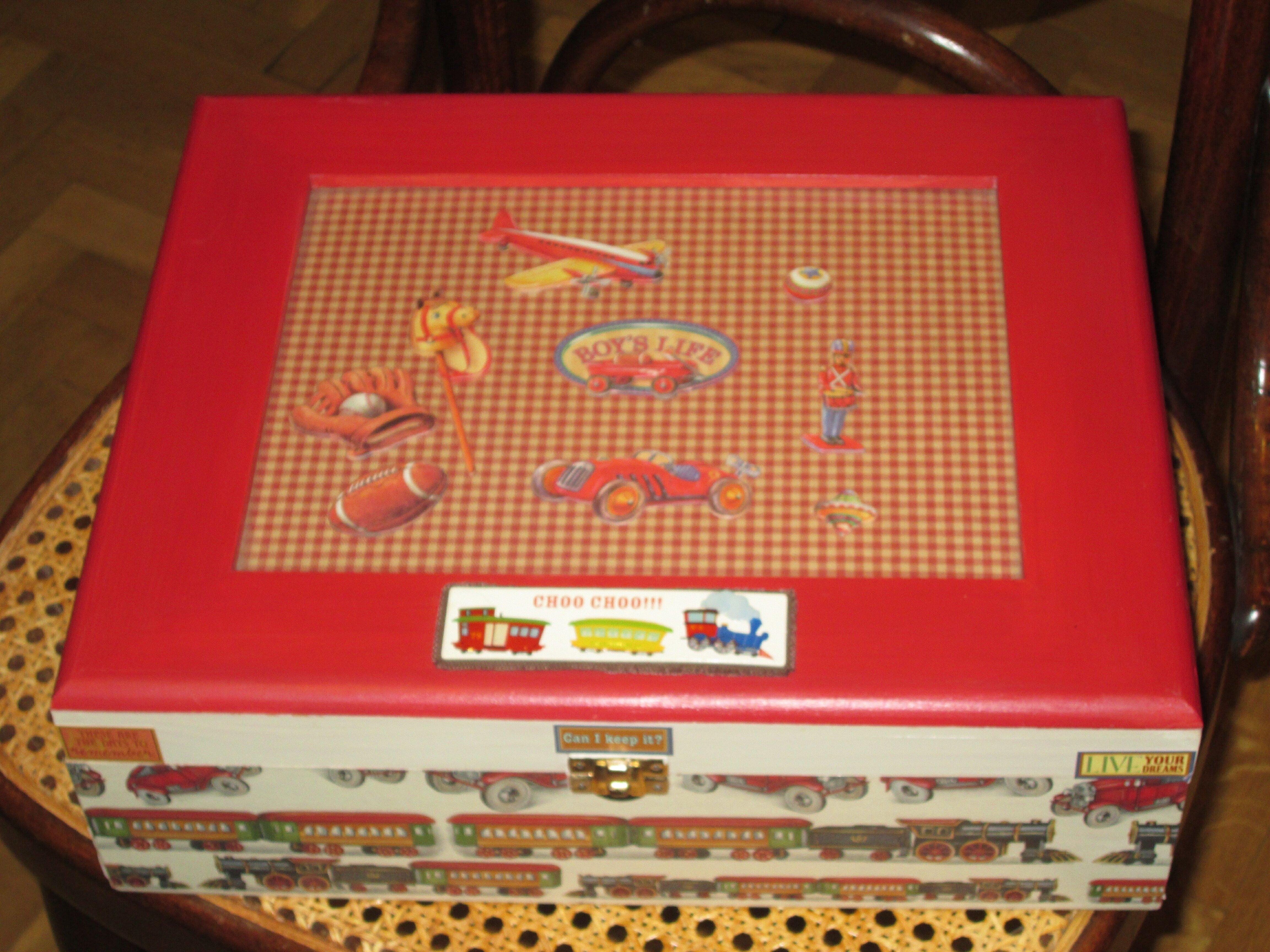 Decorando cajas quedomon simo - Decorar cajas de madera con servilletas ...